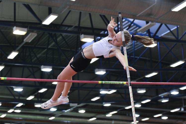 Katarina Verst ületas teivashüppes 2.82. Foto: Marko Mumm